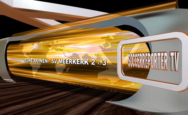 Schelluinen - sv Meerkerk 2 - 3